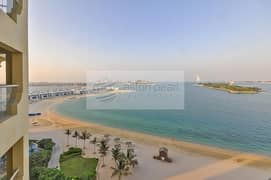 2 Bedroom + Maids | Full Sea View | Best location