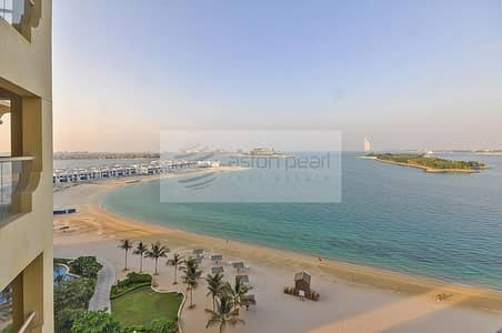 2 Bedroom Apartment for Sale in Palm Jumeirah, Dubai - 2 Bedroom + Maids | Full Sea View | Best location