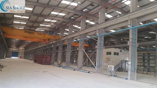 Warehouse for Rent in Al Mafraq Industrial Area, Abu Dhabi - Industrial Warehouses for lease in Mafraq area