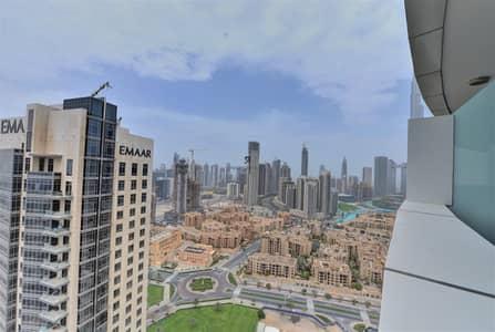 فلیٹ 2 غرفة نوم للايجار في وسط مدينة دبي، دبي - Fully Furnished 2 BR | Higher Floor| Ready to move