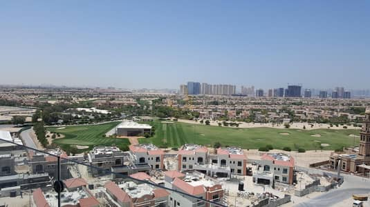 Studio for Rent in Dubai Sports City, Dubai - Full Golf Course View | Fully Furnished Studio | Ready to Move