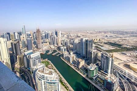 2 Bedroom Apartment for Sale in Jumeirah Beach Residence (JBR), Dubai - R2F | Full Marina View | Balcony | Modern