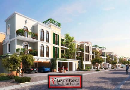 تاون هاوس 4 غرف نوم للبيع في جميرا، دبي - CORNER UNIT |4BR TYPE D|W/FAMILY ROOM|ROOF TERRACE