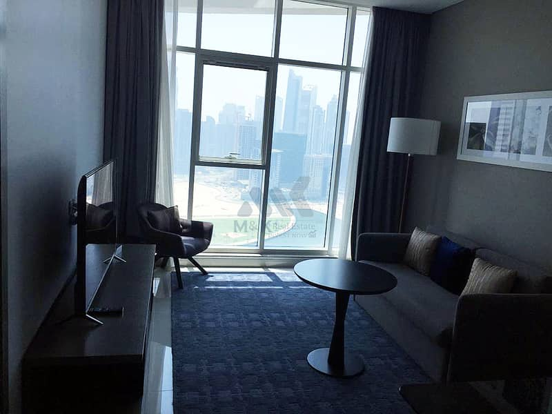 Brand New - High Floor Fully Furnished - Canal View