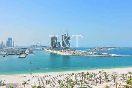 2 Bedroom Apartment for Rent in Palm Jumeirah, Dubai - 06 Unit | High Floor | Sea View