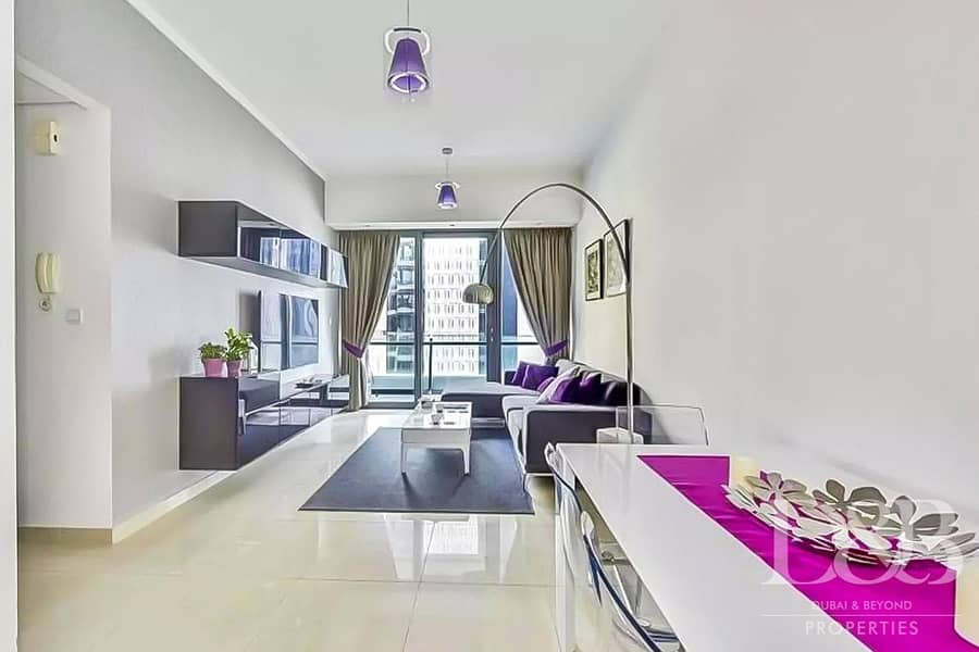 Luxury Furnished 2 Bedroom With Marina View