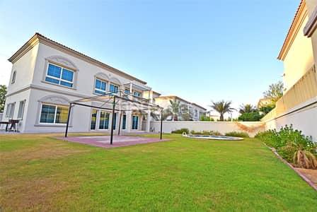 4 Bedroom Villa for Rent in Jumeirah Village Triangle (JVT), Dubai - District 8   Corner Plot   Extended   4 BR + Maid