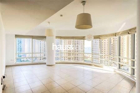2 Bedroom Flat for Sale in Dubai Marina, Dubai - Bright and Spacious   Unfurnished   Balcony
