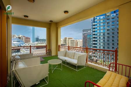 شقة 2 غرفة نوم للايجار في نخلة جميرا، دبي - Upgraded | D Type | Ready To Move In | Huge Layout
