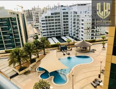 1 Bedroom Flat for Rent in Dubai Silicon Oasis, Dubai - Swimming pool View - Chiller Free - Balcony