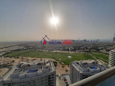 شقة 2 غرفة نوم للبيع في مدينة دبي الرياضية، دبي - GOLF VIEW HIGHER FLOOR | CORNER UNIT 2 BEDROOM