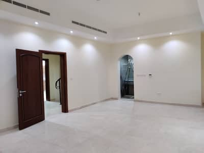 4 Bedroom Villa for Rent in Al Karamah, Abu Dhabi - Brand new villa central A/C with maids room