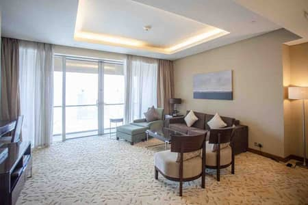 شقة فندقية 1 غرفة نوم للايجار في وسط مدينة دبي، دبي - شقة فندقية في العنوان دبي مول وسط مدينة دبي 1 غرف 110000 درهم - 5181368