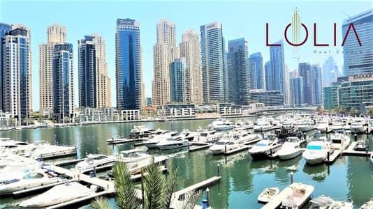 3 Bedroom Apartment for Rent in Dubai Marina, Dubai - Lower floor 3Bhk w/ Marina View | Chiller Free