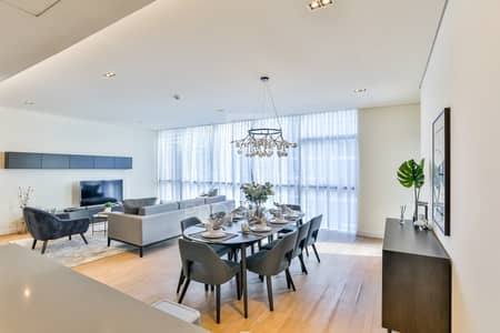3 Bedroom Apartment for Rent in Jumeirah, Dubai - Bright and Furnished Apt   Boulevard View