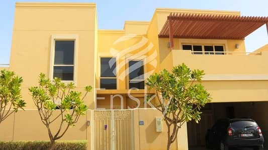 3 Bedroom Villa for Sale in Al Raha Gardens, Abu Dhabi - Well Maintained Townhouse in Great Location
