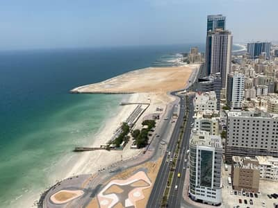 2 Bedroom Apartment for Sale in Corniche Ajman, Ajman - HOT DEAL ,2BHK FULL SEA VIEW FOR SALE ONLY 5% DOWNPAYMENT SAME DAY TRANSFER ,GET THE TITEL DEED AND KEY