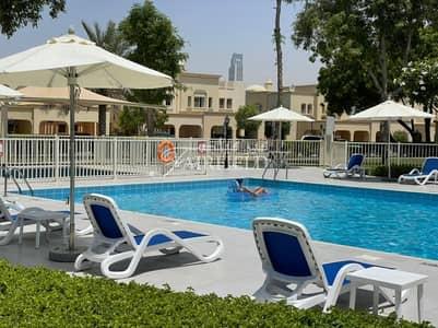 تاون هاوس 2 غرفة نوم للايجار في الينابيع، دبي - Springs 2Br+Study |Type 4E TH | avbl july