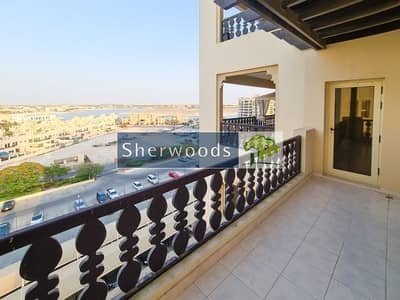 2 Bedroom Flat for Sale in Al Hamra Village, Ras Al Khaimah - Corner Unit - Large Balcony - Partial Sea Views
