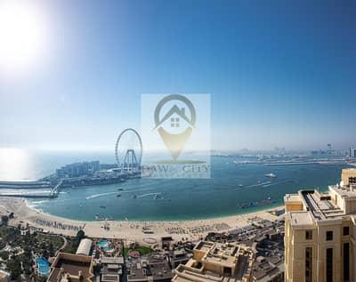 شقة 3 غرف نوم للبيع في جميرا بيتش ريزيدنس، دبي - STUNNING 3BR   WITH AMAZING SEA VIEW & DUBAI EYE VIEW
