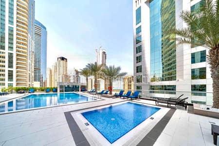 استوديو  للايجار في دبي مارينا، دبي - Sea & Marina view - Semi furnished - Bright