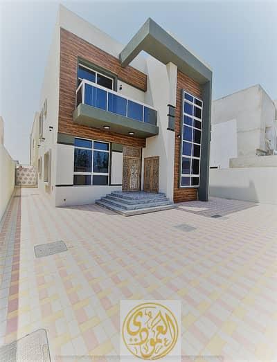 3 Bedroom Villa for Sale in Al Yasmeen, Ajman - Villa for sale in Jasmine, Qar Street, a great location, a sophisticated and modern design