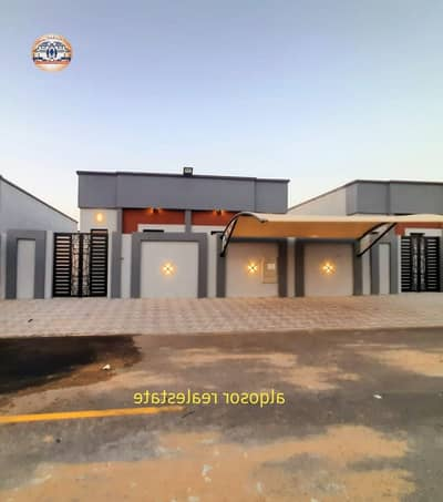 3 Bedroom Villa for Sale in Al Zahia, Ajman - For sale villa in Ajman, ground floor, in Al Zahia, super deluxe finishes, without (registration fees), great location, freehold ownership for all nationalities