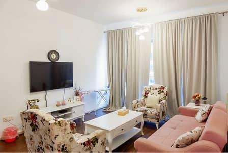 شقة 1 غرفة نوم للايجار في مجمع دبي ريزيدنس، دبي - شفة  مفروشة للإيجار في أبراج سكاي كورتس , عرض خاص