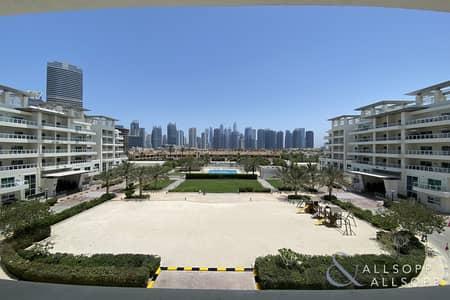 شقة 3 غرف نوم للايجار في تلال الجميرا، دبي - Three Bedrooms | Duplex | Skyline View