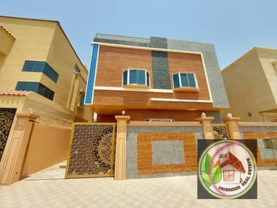 5 Bedroom Villa for Sale in Al Helio, Ajman - For sale villa, modern design, freehold for all nationalities, with the possibility of bank financing