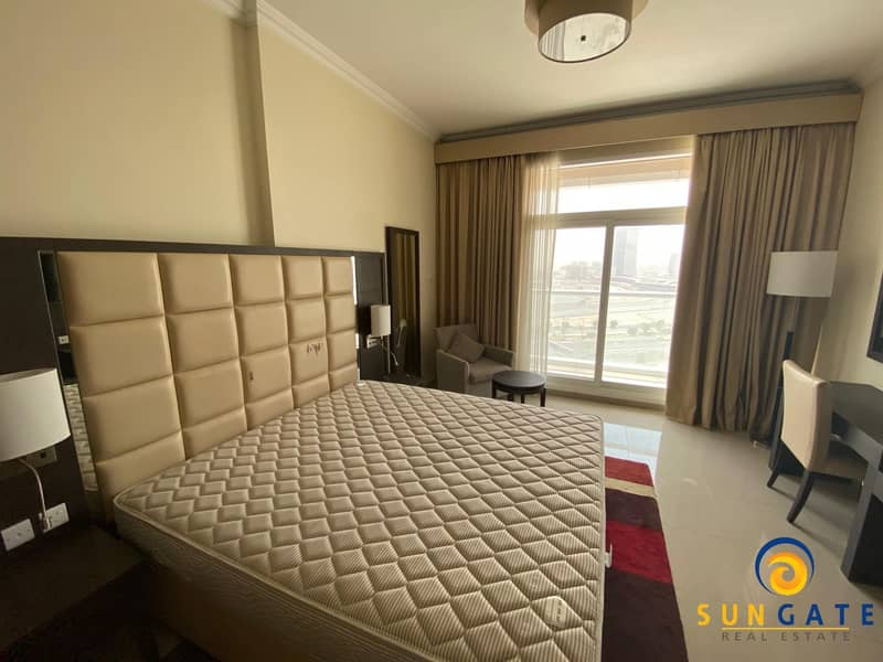 2 flexible payment furnished with balcony