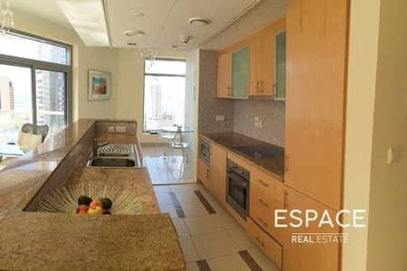 شقة 1 غرفة نوم للايجار في دبي مارينا، دبي - Furnished | Last Unit Type | Luxurious