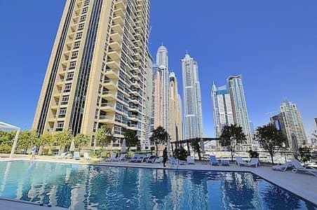 1 Bedroom Flat for Rent in Dubai Marina, Dubai - Furnished - 1 Bedroom Pool View