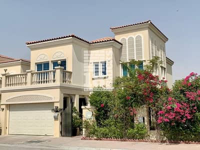 3 Bedroom Villa for Rent in Jumeirah Village Circle (JVC), Dubai - Upgraded/Extended   Semi-Furnished   Huge Plot