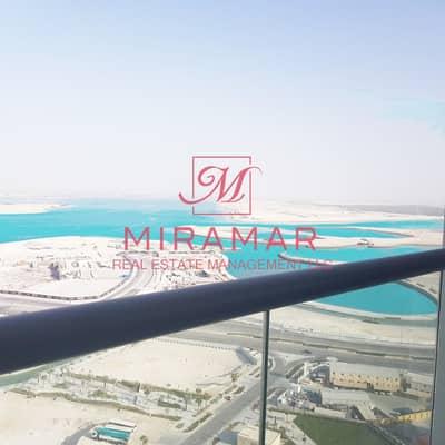 فلیٹ 3 غرف نوم للايجار في جزيرة الريم، أبوظبي - HOT!!! FULL SEA VIEW | HIGH FLOOR | LARGE 3B+MAIDS APARTMENT