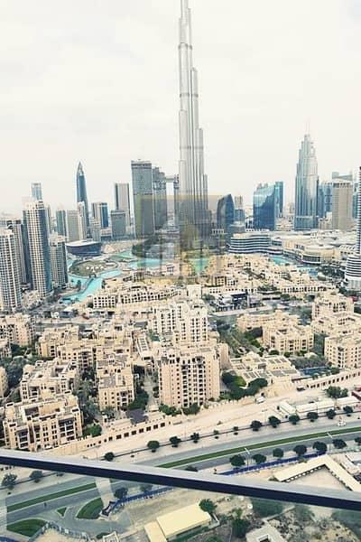 Fendi Interior w/ Full Burj Khalifa View