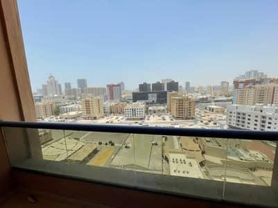 Studio for Rent in Al Nuaimiya, Ajman - Biggest Studio For Rent With Balcony In Nuaimiya Tower C