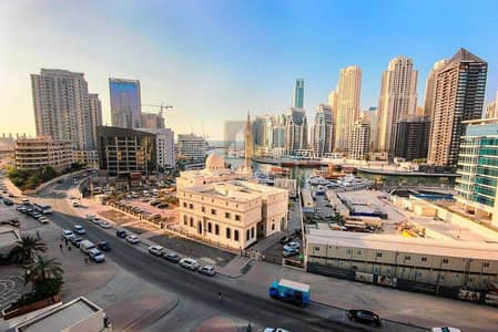 1 Bedroom Flat for Sale in Dubai Marina, Dubai - Vacant 1Bedroom W/Huge BalconyI Top Floor