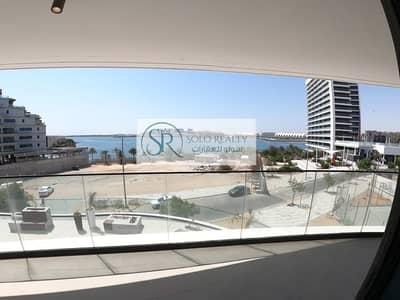 شقة 1 غرفة نوم للايجار في شاطئ الراحة، أبوظبي - Brand New 1 Master BR | Sea View | Large Living Area