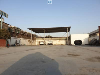 Industrial Land for Rent in Industrial Area, Sharjah - Commercial Plot  Available for Rent with Ready office