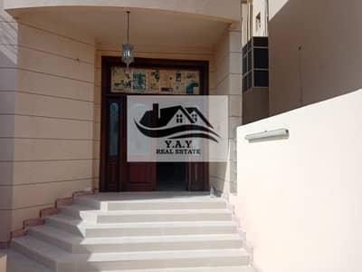 6 Bedroom Villa for Rent in Al Mushrif, Abu Dhabi - NICE AND CLEAN 6 BEDROOMS VILLA WITH BASEMENT