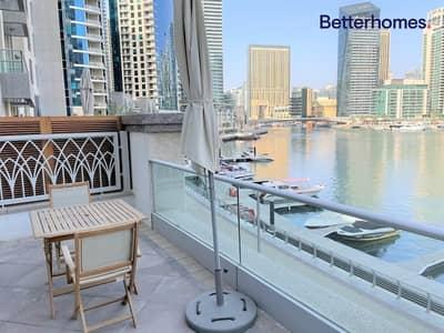 1 Bedroom Villa for Rent in Dubai Marina, Dubai - Furnished   1Bed Villa   Full Marina View