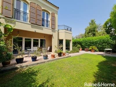 تاون هاوس 4 غرف نوم للبيع في جرين كوميونيتي، دبي - Well Maintained Corner Villa - Vacant on Transfer