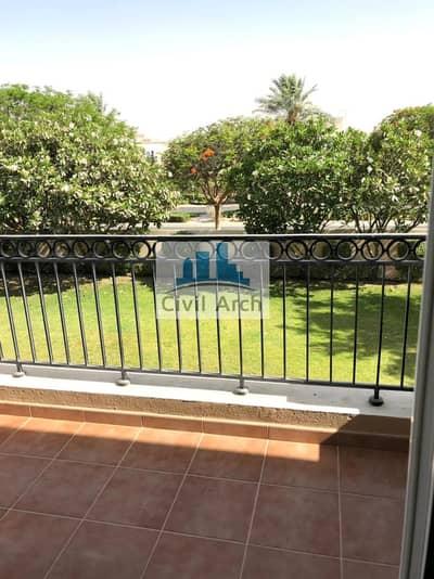 فیلا 4 غرف نوم للايجار في المرابع العربية، دبي - LOVELY 4BR VILLA+GARDEN+POOL FRONT AT 300K BY 1 CHQ
