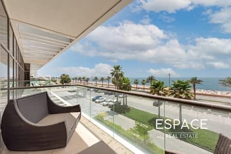 فلیٹ 2 غرفة نوم للبيع في نخلة جميرا، دبي - Fully Furnished Full Sea View Vacant 2B