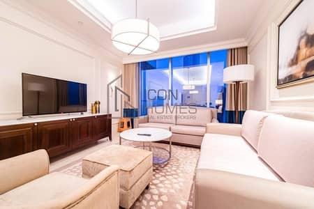 فلیٹ 2 غرفة نوم للايجار في وسط مدينة دبي، دبي - BURJ VIEW TWO BEDROOM APARTMENT IN ADDRESS BLVD