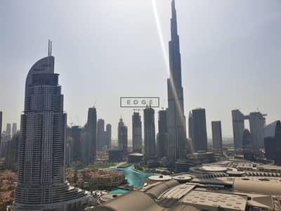 شقة فندقية 1 غرفة نوم للايجار في وسط مدينة دبي، دبي - EXCLUSIVE 1BED   FULL BURJ AND FOUNTAIN   155K