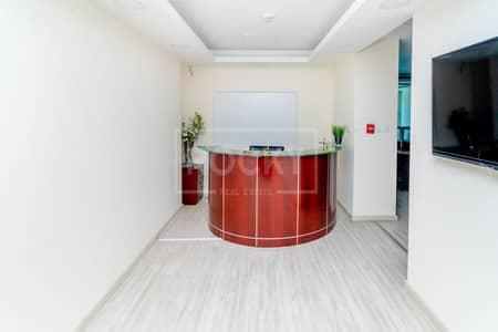 مکتب  للايجار في برشا هايتس (تيكوم)، دبي - Fitted | Furnished Office | Chiller Free | Close to Metro
