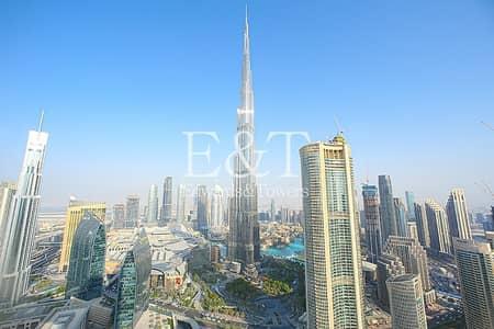 فلیٹ 4 غرف نوم للايجار في وسط مدينة دبي، دبي - Fully Furnished | Full B. K View | Vacant