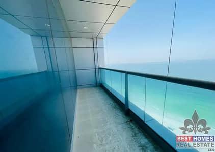 شقة 3 غرف نوم للبيع في كورنيش عجمان، عجمان - ثلاث غرف نوم دوبلكس شقة مطلة على البحر بالتقسيط